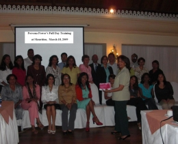 2009-Mauritius assignment, with the Persona Power brochure on March 18, 2009