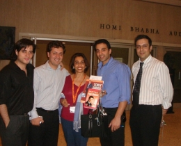 Accomplishing the renowned Int'l training of Anthony Robbins with the Peak Performance team, along with trainer Arfeen Khan and his book