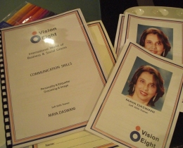 Brochure and Notes of Ms Daswani by Vision 8, 2009