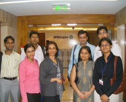 Completed the Communications Skills workshop for J P Morgan, Mumbai
