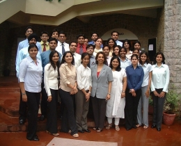 For entrants to the corporate world-intensive course for Bank Relationship Managers
