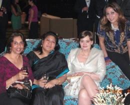 Honoured to meet prominent personalities in HK - April 16 2009
