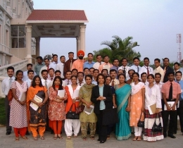 Maya handled several successful trainings in Coimbatore, India for Branch Managers
