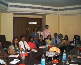 Round Table Seminar with personalised training