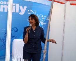 Speaking at The Hyatt, New Delhi