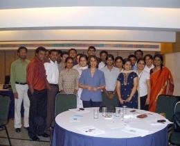 Training DBS -Development Bank of Singapore, Cholamandalam-Delhi & Chenai